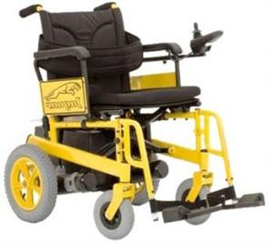 Cadeira de Rodas Motorizada Jaguar Obeso 48 - JAGUARIBE