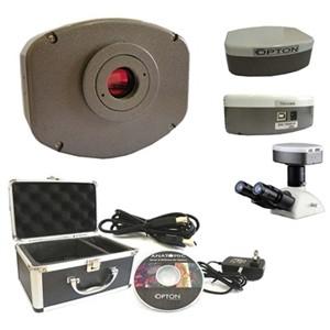 Câmera Digital Refrigerada CCD 5.0 MP com Software Trabalhos com Fluorescência e Campo Escuro. Atc