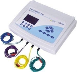 Eletroestimulador FES + TENS 4 Canais Fesmed IV.Crc
