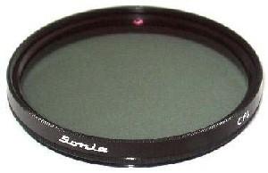 Filtro de Polarização Simples para Microscopio N107 E 201. Cman.