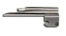 Lâmina para Laringoscópio de Fibra Ótica Recém Nascido nº 0 Curva tipo Muller, ou Reta tipo McI - Mkt