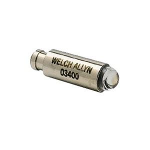 Lâmpada halógena 03400 para Otoscópios de 2,5V Pocket Jr e Pocketscope .Welch Allyn