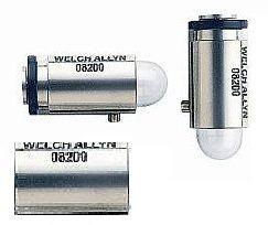 Lâmpada Halógena 3,5V 08200 para Retinoscópio de Fenda 18200 e 18245. Welch Allyn