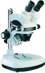 Microscópio Estereoscópico Binocular, Zoom de 0,7X até 3X , Aumento 7 X a 30X. Opton