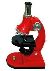 Microscópio Monocular em Plástico 750X de Aumento Iluminação Através de Espelho ou Lâmpada. Qm