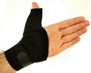 Munhequeira boomerang (com suporte para polegar) Lite Support.Salvapé