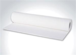 Papel lençol hospitalar 100% celulose Virgem (50CmX 50M)Branco caixa com 10 rolos.Produtos Medicos