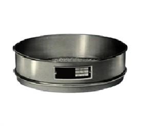 Peneira em malha 6,30 até 100 mm Redonda para Agitador, de 8 x 2 Polegadas em Alumínio.Granuteste