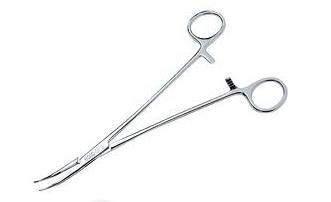Pinça MOYNIHAN 24cm para Histerectomia - ABC INSTRUMENTOS