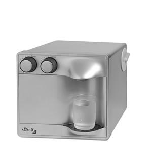 Purificador de Água Soft Fit Prata ou Preto Água Gelada para até 15 pessoas/hora.Evr