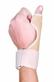 Tala (lateral de tecido para polegar).Salvapé