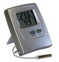 Termo-Higrômetro Digital, Possui Função Data e Hora -10º.C a +50ºC.Rva