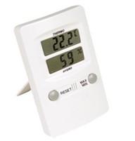 Termo-Higrômetro Digital Temperatura e Umidade Internas 10°C à +60°C. Icon