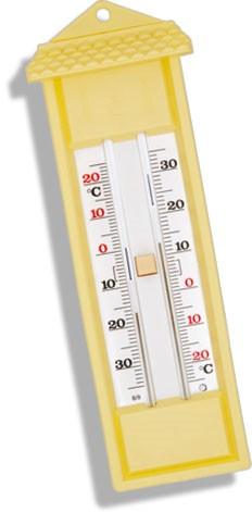 Termômetro Capela Máxima e Mínima Analógico - 38 + 50 °C, uso Interno e Externo.Rva