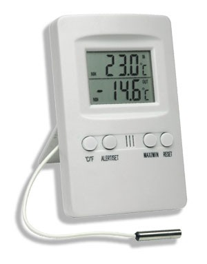 Termômetro Digital Máxima e Mínima Com Alarme - Incoterm
