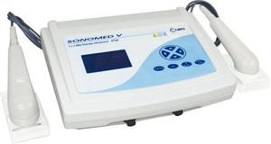 Ultrassom para fisioterapia digital 1 e 3 mhz sonomed v.Br Cirurgica
