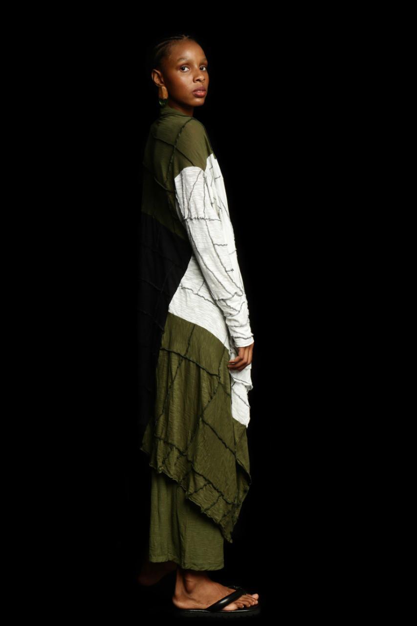 Casaco Quadrado Wabi-Sabi