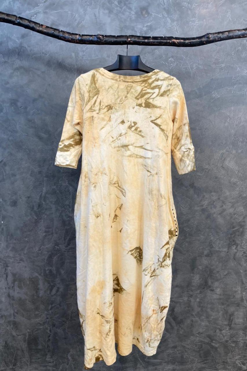 Vestido Eillen Atoalhado
