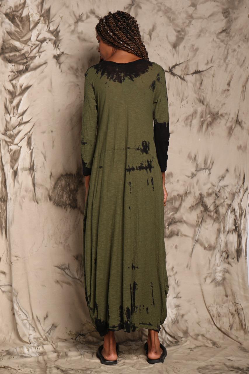 Vestido Kangurú Longo