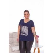 Blusa Feminina Especial G7 Torres Paris Plus Size Mazal