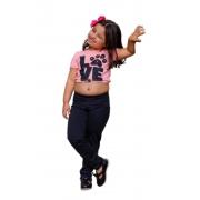 Calça Legging Suplex Infantil Juvenil Menina Mazal
