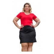 Vestido Feminino 2 Cores Bolsos Nas Laterais Plus Size Mazal