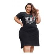 Vestido Feminino Believe Tamanho Especial Plus Size Mazal