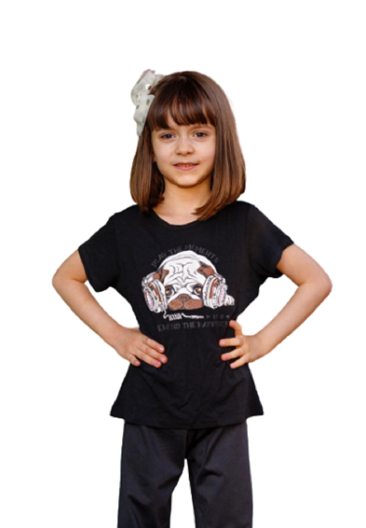 Camiseta Baby Look Infantil Juvenil Menina Cachorro Mazal