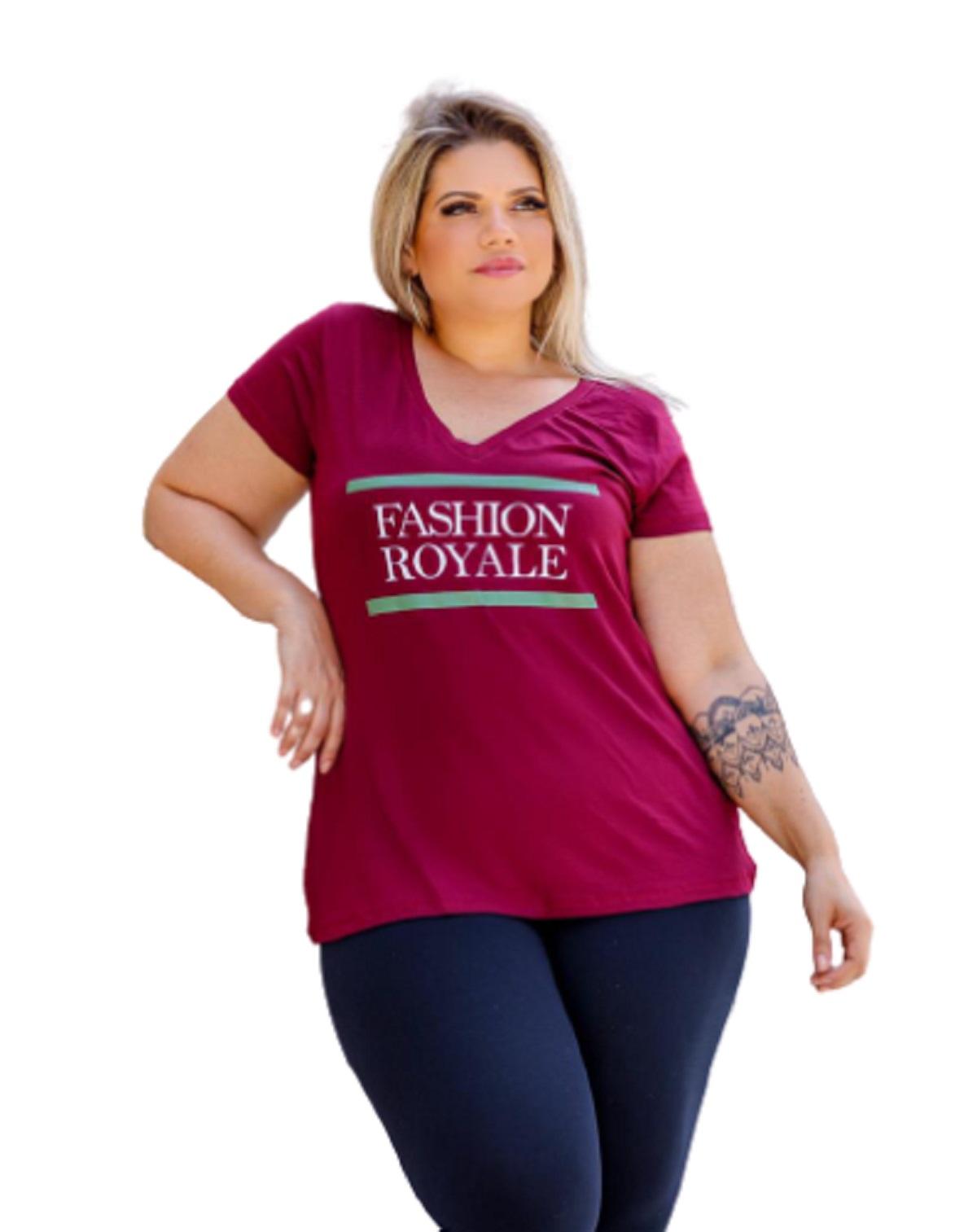 Blusa Feminina Especial G7 Fashion Royale Plus Size Mazal