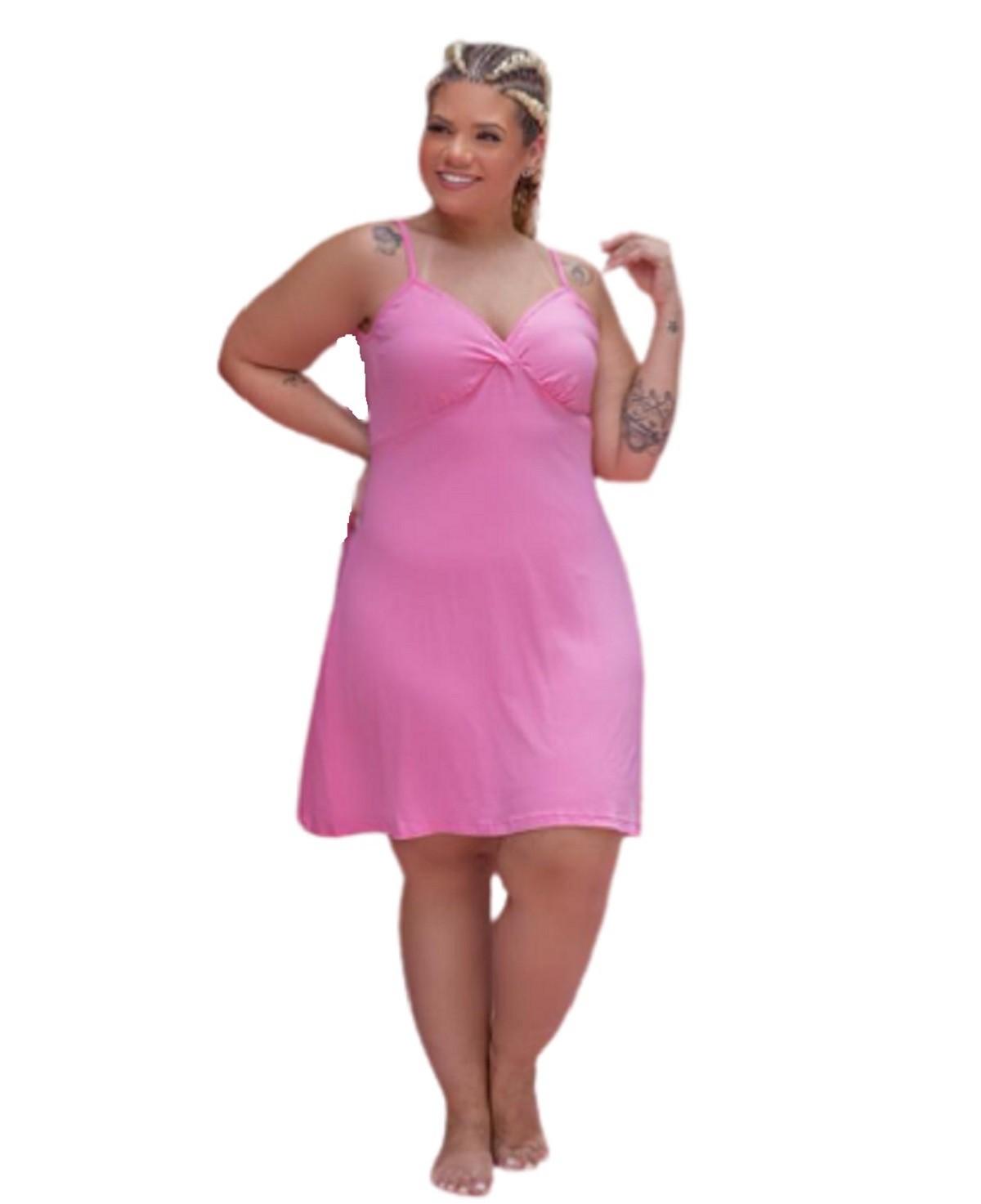 Camisola Feminina Alcinha Plus Size Mazal