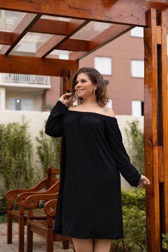 Vestido Feminino Ciganinha Plus Size Mazal