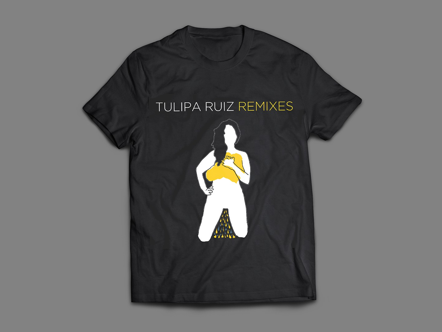 CAMISETA TULIPA REMIXES
