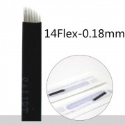 Lâmina Flex Chanfrada  14  0,18mm (NANO)