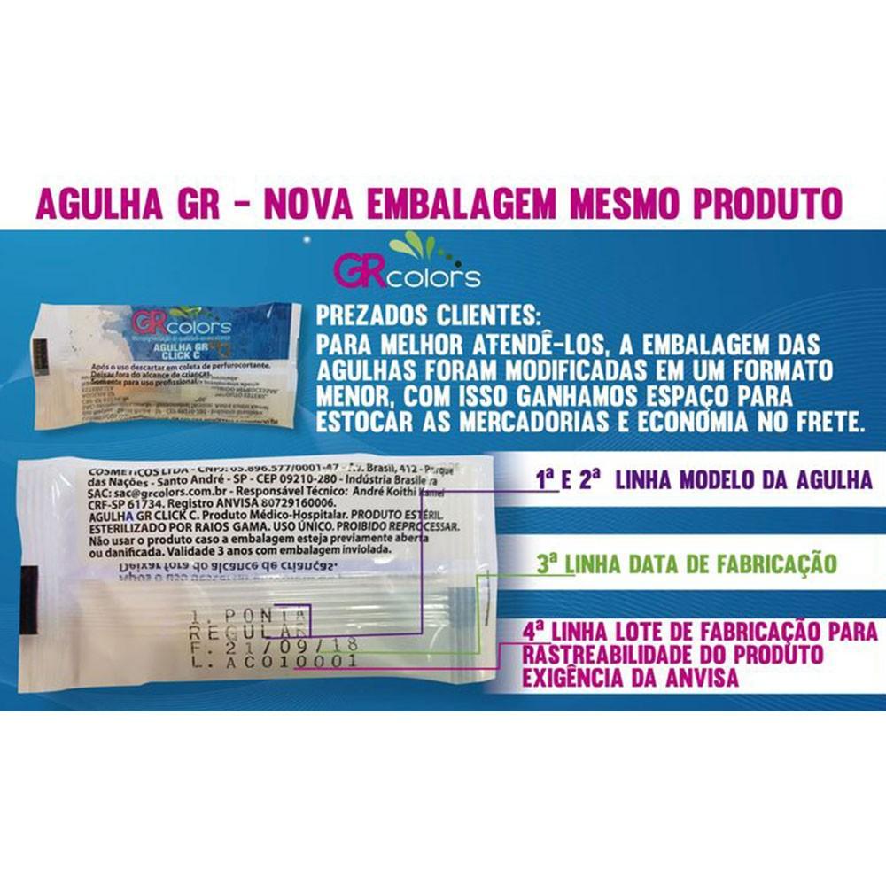 Agulha 1Ponta Regular GR COLORS