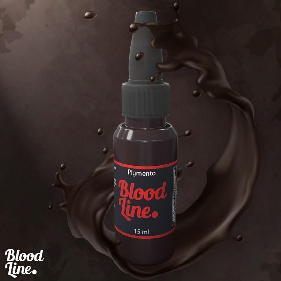 PIGMENTO BLOOD LINE 15 ML DARKEST BROWN ESCURO INTENSO  CAT1