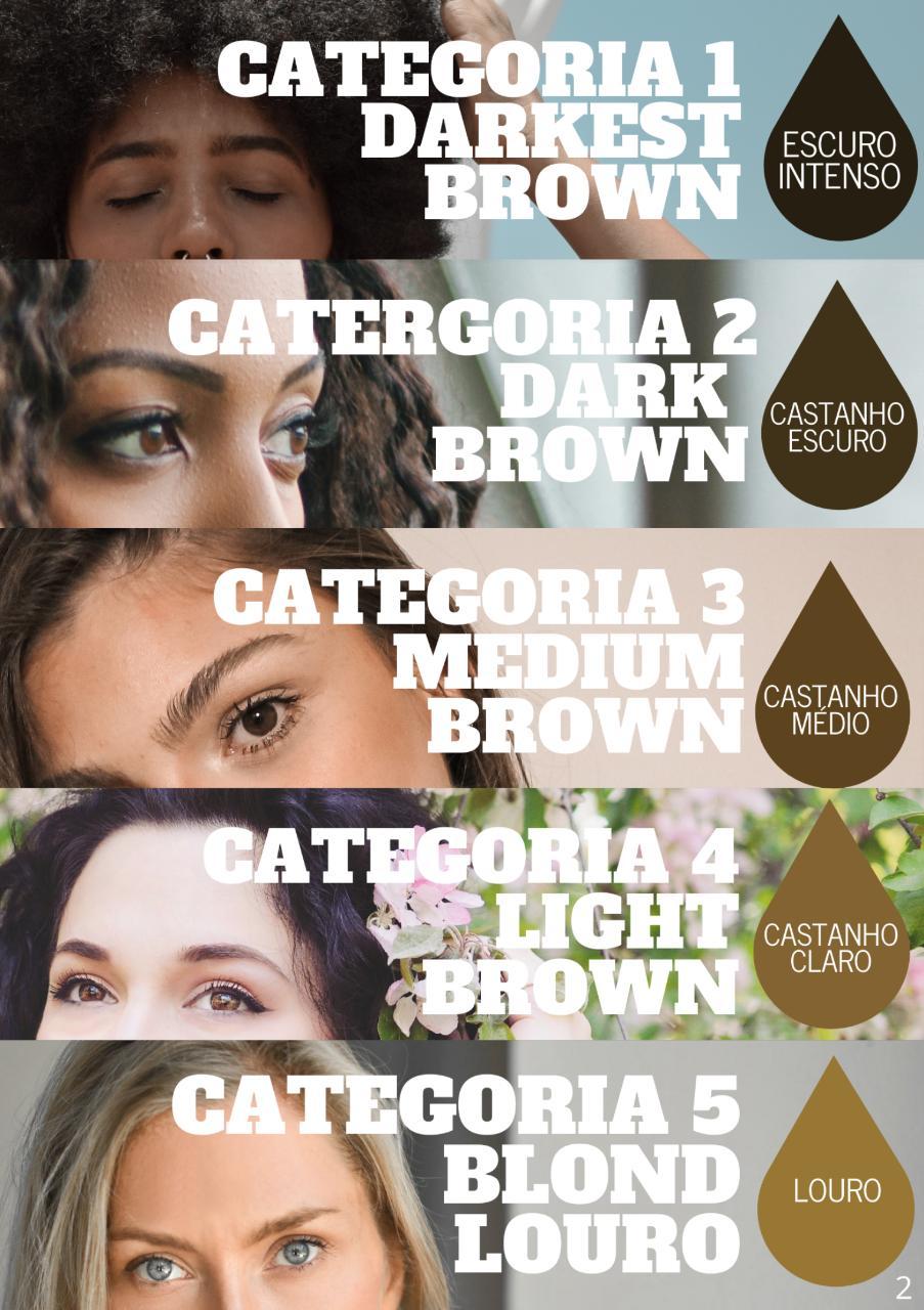 PIGMENTO BLOOD LINE 15 ML DARK BROWN CASTANHO ESCURO CAT2