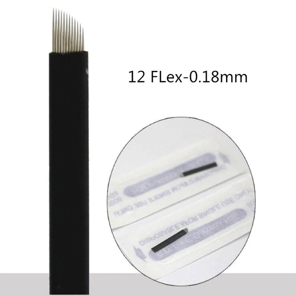 Lâmina Flex Chanfrada  12  0,18mm (NANO)