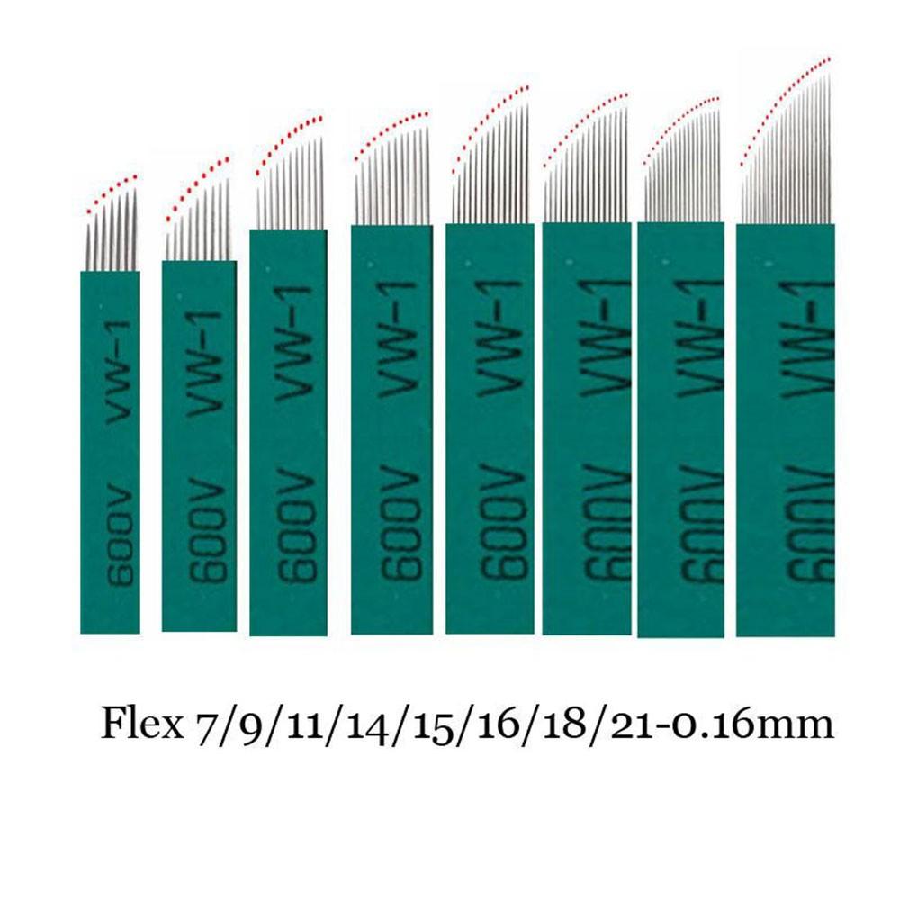 Lâmina Flex Chanfrada 16  0,16mm (NANO)