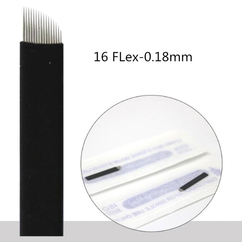 Lâmina Flex Chanfrada  16  0,18mm (NANO)