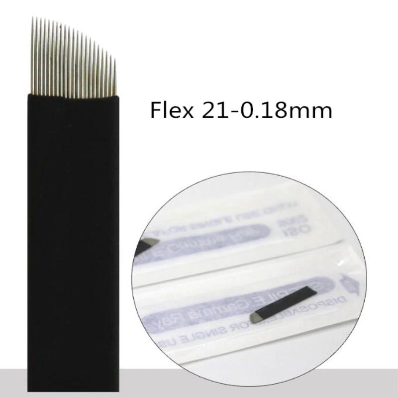 Lâmina Flex Chanfrada  21  0,18mm (NANO)