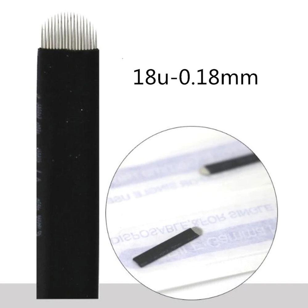 Lâmina U Chanfrada  18  0,18mm (NANO)