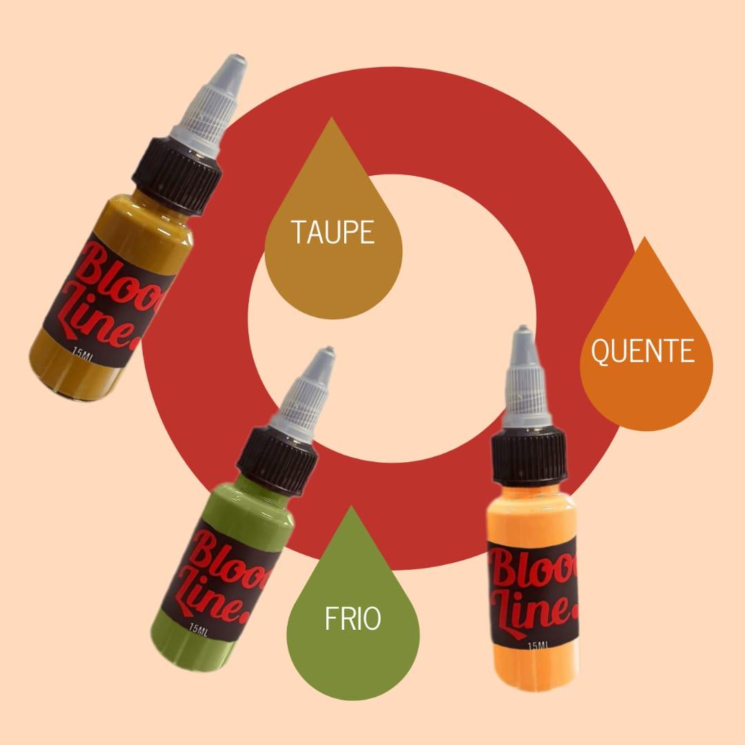 PIGMENTO BLOOD LINE 15 ML MODIFICADOR QUENTE ( LARANJA )