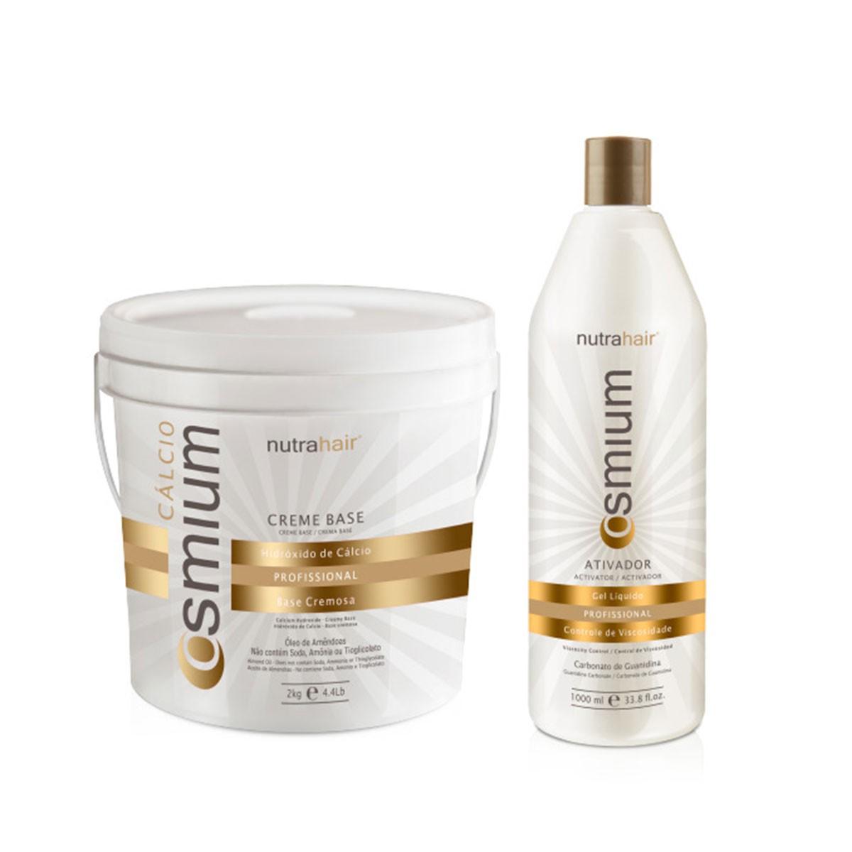 Relaxamento e alisamento capilar com Hidróxido de Guanidina (Cálcio)