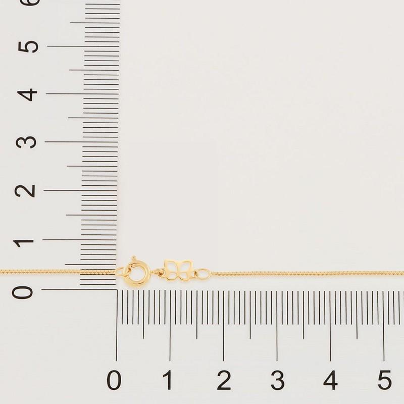 CORRENTE FOLHEADA ROMMANEL FIO VENEZIANA 8 MM - 42/50/60CM - 531310