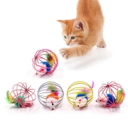 Brinquedo Ratinho na Gaiola