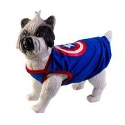 Camiseta para Cachorro - Capitão América