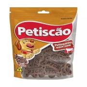 PETISCÃO PETISQUINHO DE CARNE 60g - CAIXA C/ 24 PCT