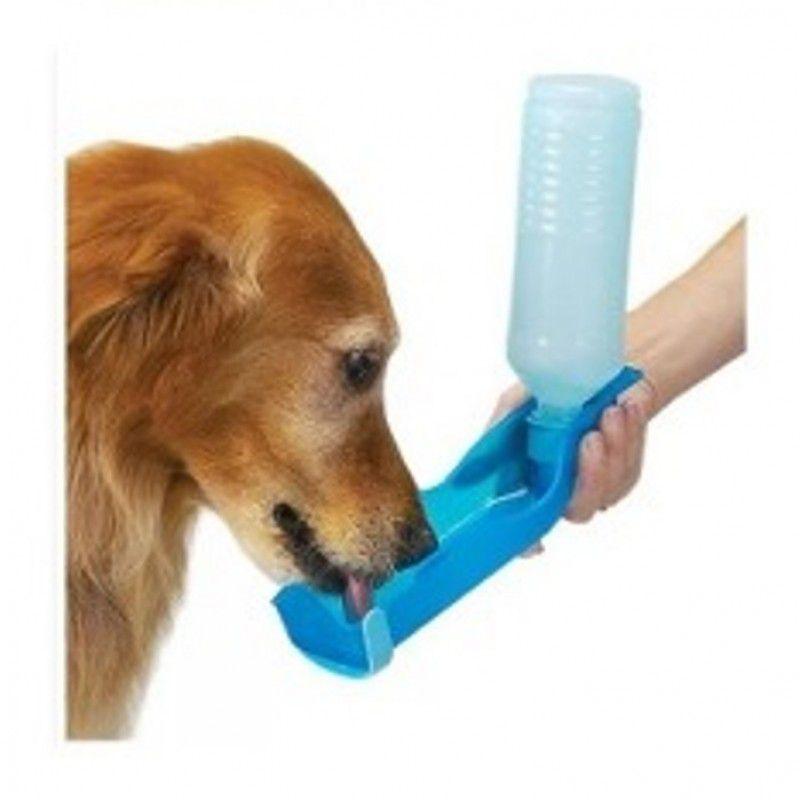 Bebedouro Portátil Para Cães Garrafa Pet Shop 240 ml