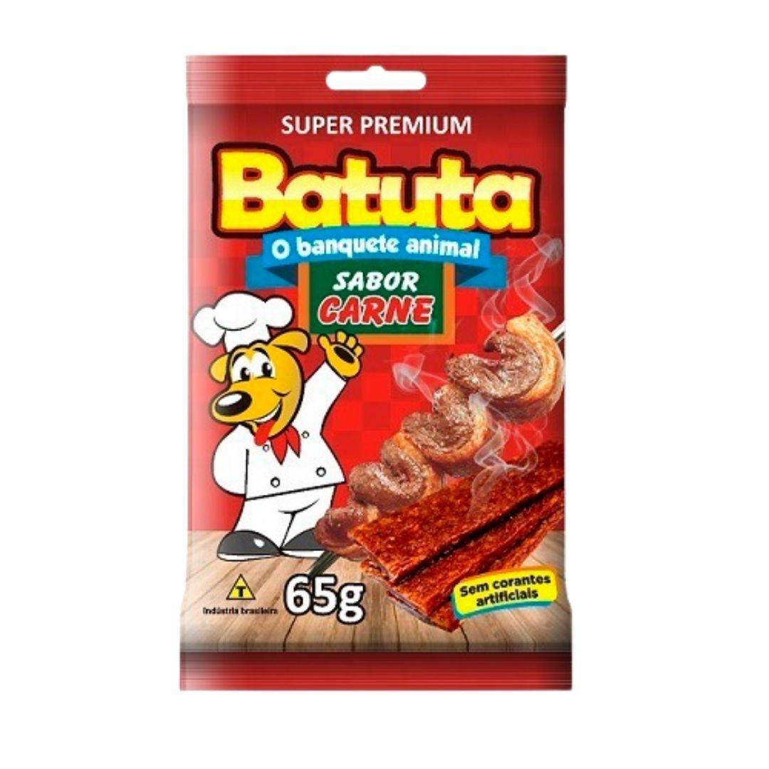 BIFINHO BATUTA DE CARNE 65g  - CAIXA COM 20 PCT
