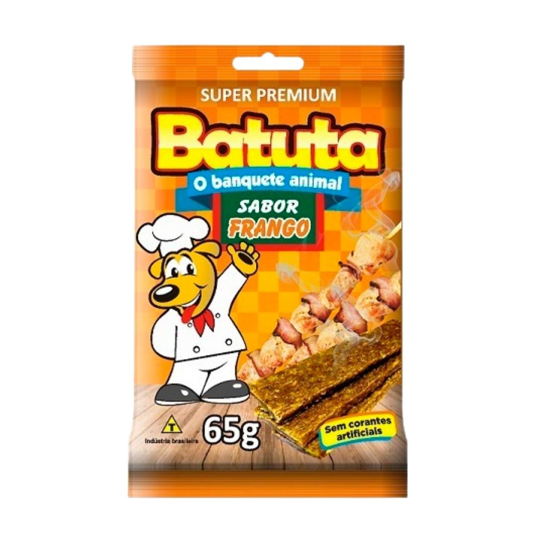 BIFINHO BATUTA DE FRANGO 65g - CAIXA COM 20 PCT
